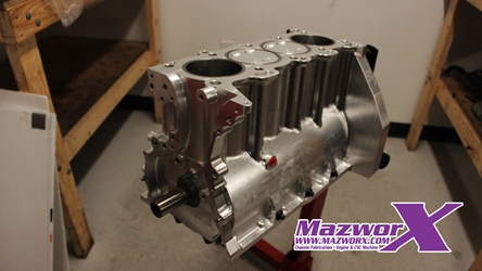 Mazworx Billet Full Race Short Block - SR20
