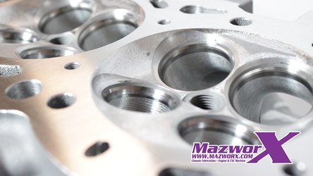 Mazworx CNC Combustion Chamber Machining