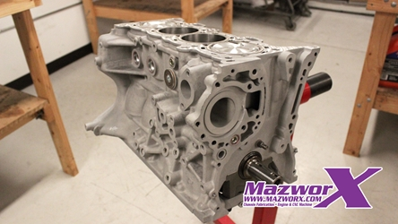 Mazworx Stage 1 Short Block - SR20 RWD