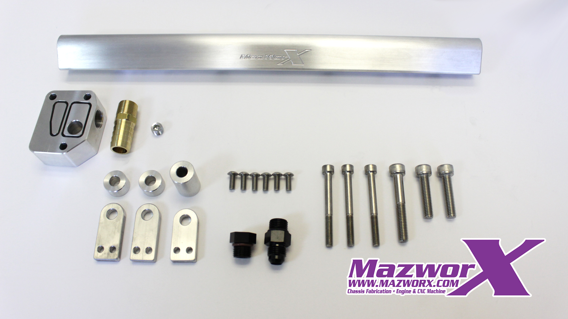 Mazworx S14/S15 SR20 Fuel Rail Kit