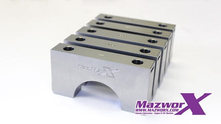 Mazworx SR20 Billet Main Caps