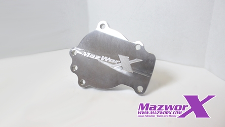 Mazworx SR20 Water Pump Block-off Plate water pump, B1010-52F01