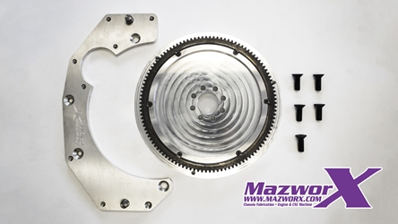 Mazworx SRGM Adapter and Flywheel