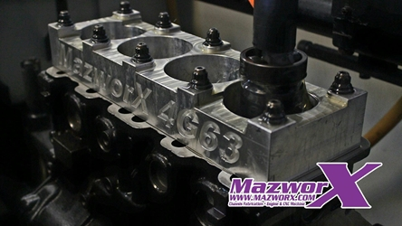 Mazworx Stage 3 Short Block - 4G63