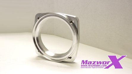 Mazworx Throttle Body Flange, Q45