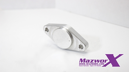 Mazworx VE Head Water Neck Block-Off