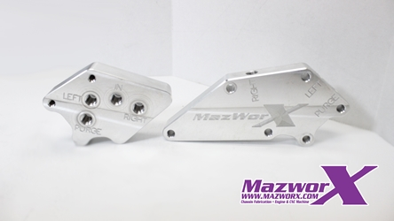 Mazworx VVL Solenoid Relocation Blocks
