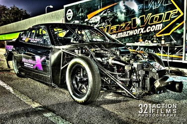 Team Tekno-Toyz Muhammad Alis Pro Mod Drag Racing Engine
