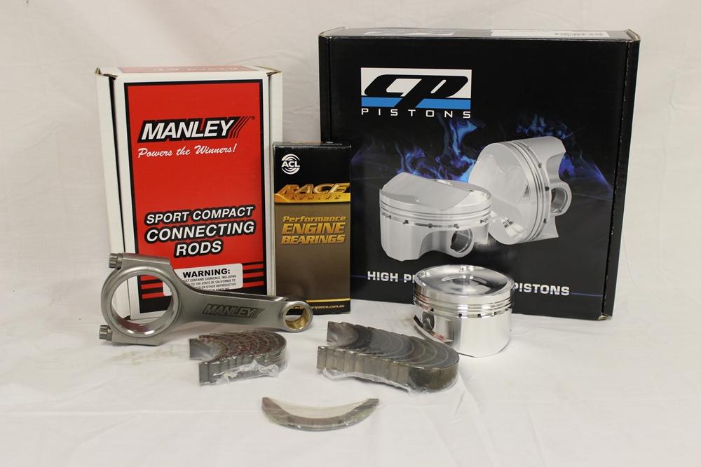 Pistons/Rods/Bearings SR20DET #