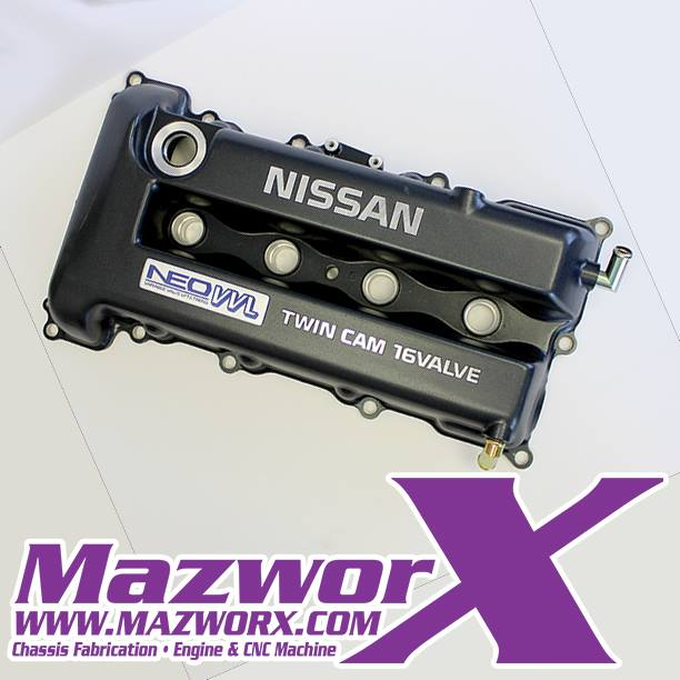 Nissan SR20VE Valve Cover, Black, P11