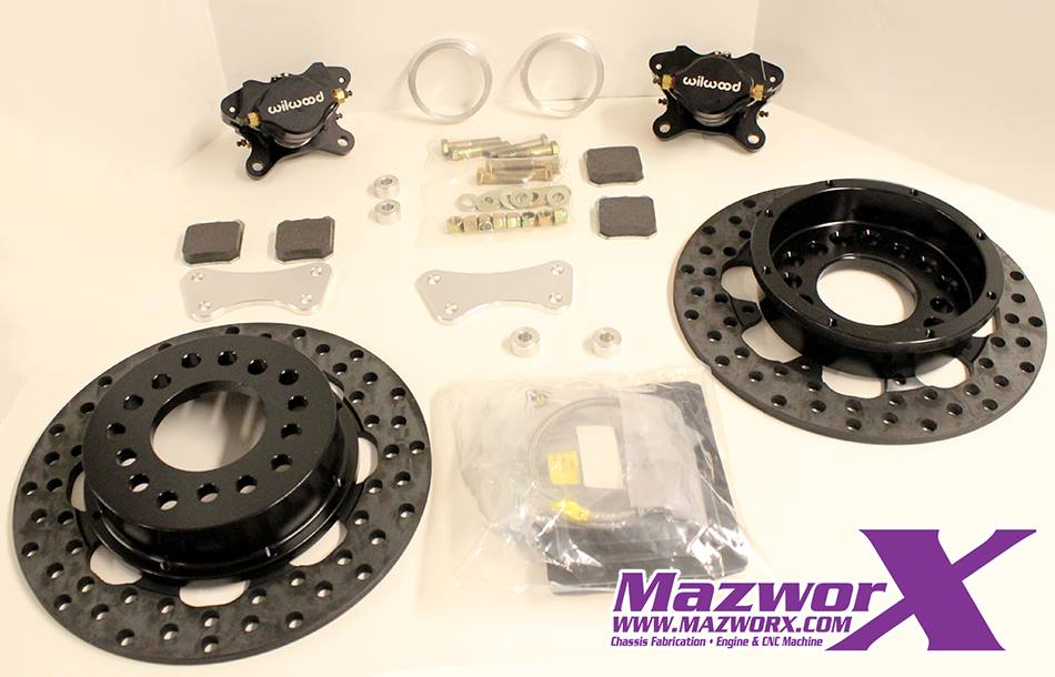 Drag Race Front Brake Kit S13/S14