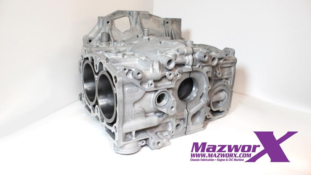 Mazworx - EJ25 Sleeved Block #