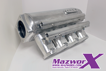 Mazworx Billet SR20VE Race Intake Manifold Assembly for 12 Injectors
