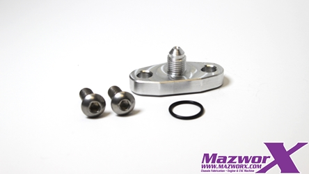 Mazworx Oil Feed Fitting