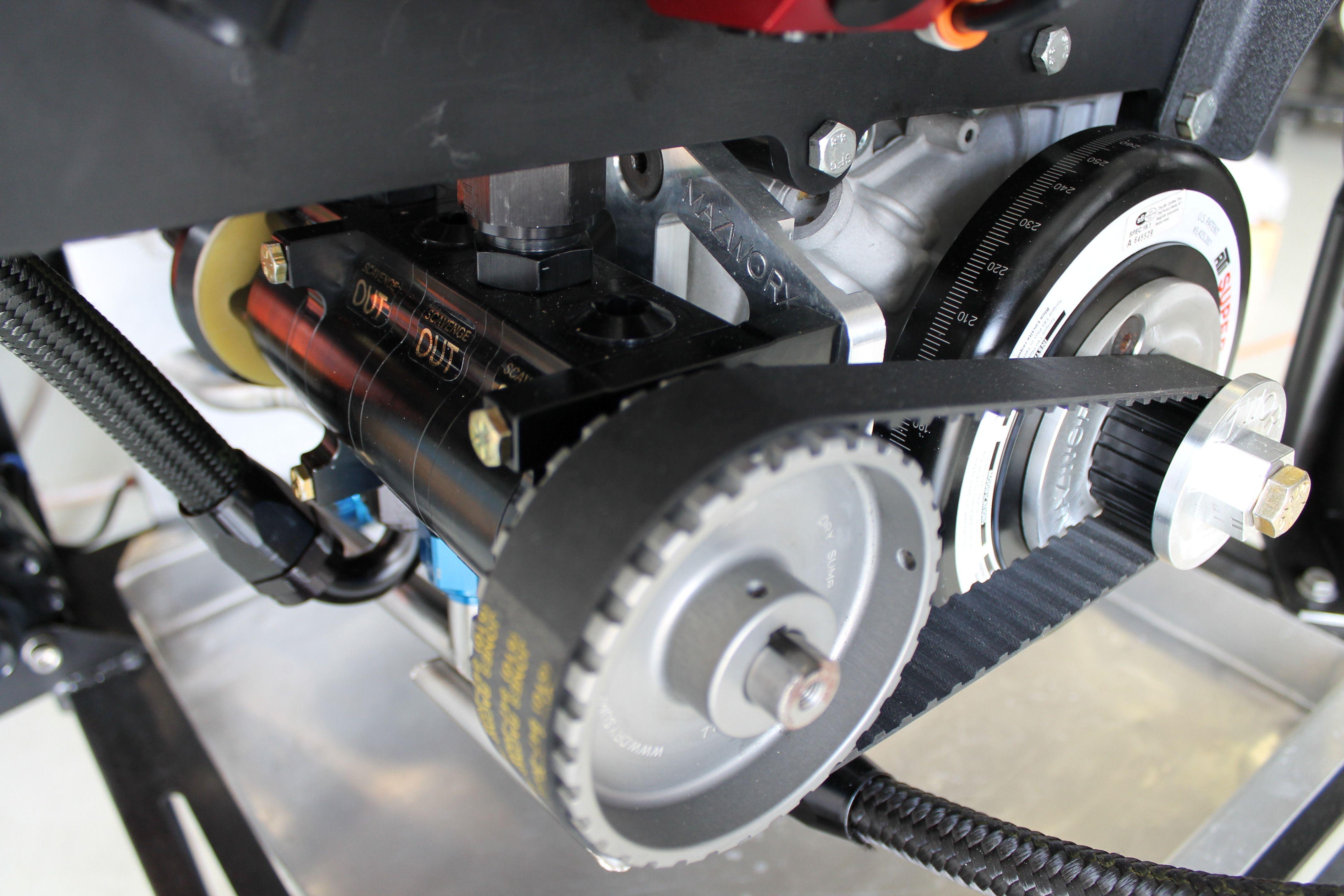Mazworx SR20DE//SR20DET RWD Oil Block Adapter