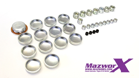 Mazworx SR20 Freeze and Oil Port Plug Kit