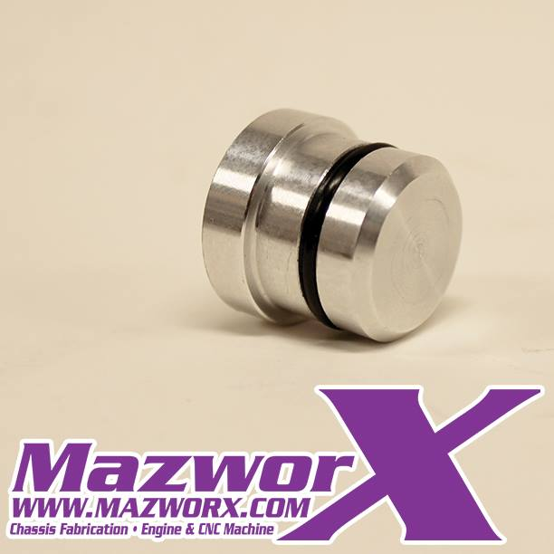 Mazworx SR20 Block Rear Breather Plug