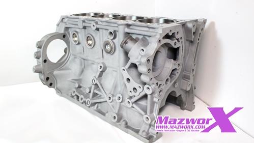 Mazworx - SR20 Turbo Sleeved Short Block #
