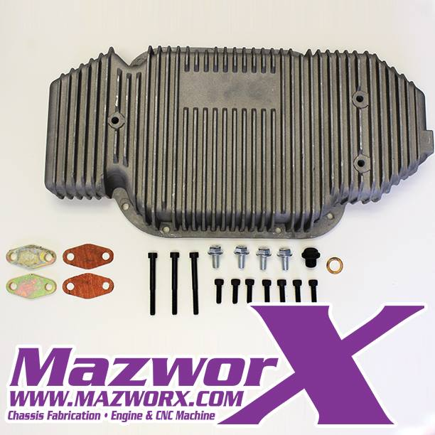 Mazworx VQ35DE High Capacity Oil Pan