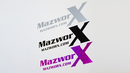 Mazworx Sticker Pack