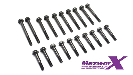 Mazworx SR20VE Camshaft Cap Bolt Set